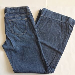 Banana Republic Wide Leg Jeans Sz 6